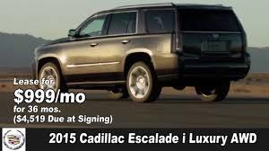 cadillac ats lease special 2015 cadillac ats coupe sedan srx escalade i luxury lease special