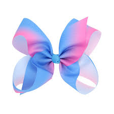 hair bow 24pcs free shipping jojo siwa large rainbow hair bow in hair