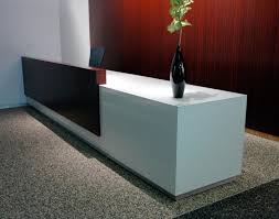 Contemporary Office Desk by Tempered Glass Countertop Home Office Contemporary With Glass