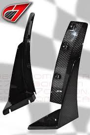 carbon fiber corvette parts 2014 corvette z07 style splitter winglets carbon fiber c7