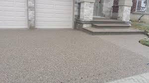 Patio Stones Kitchener Exposed Aggregate Concrete Driveway Driveway Paving Kitchener