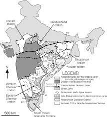 Map Of South India by June 2008 Lip Of The Month Large Igneous Provinces Commission