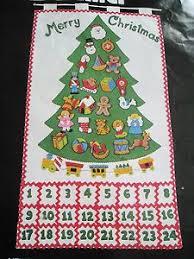 bucilla felt tree advent calendar w ornaments ready to