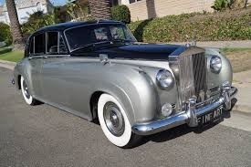 silver bentley 1961 bentley s2 sedan black leather stock 6cu for sale near