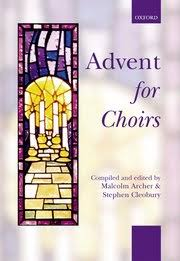 advent for choirs spiral bound malcolm archer stephen
