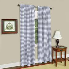 White Bedroom Curtains 63 Inches Buffalo Checkered Curtain Panel Available In Multiple Sizes And