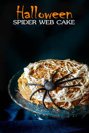 spider web cake for halloween oh the goodies