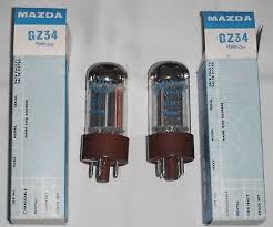 mazda made in usa pair gz34 mazda new boxed usa made old stock valves tubes avo tested