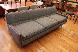 Buy Mid Century Modern Furniture by Grey Vintage Mid Century Modern Sofa