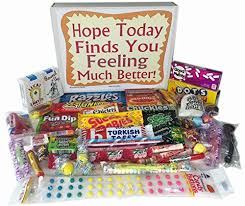woodstock candy feel better soon care package for