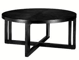 small black round table the best contemporary round black coffee table with storage