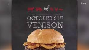 arby s elk and venison sandwiches are coming soon
