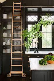 Kitchen Interior Fittings Cabinet Green And Black Kitchen Beautiful Black White Kitchen