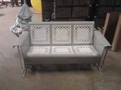 metal vintage porch glider metal chairs pinterest compleanno