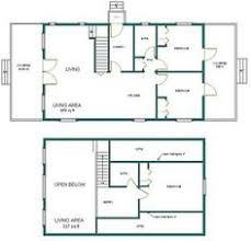 cabin floor plans loft country cabin w loft 24x40 plans package blueprints