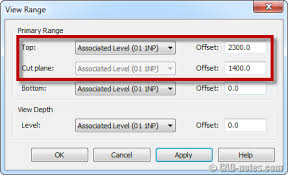 revit tutorial view range revit tip to control display if linked files overlap objects cadnotes