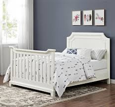 Convertible Crib Full Size Bed by Dorel Living Lafayette Wooden Bed Rails