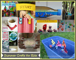 summer crafts for kids the momma diaries