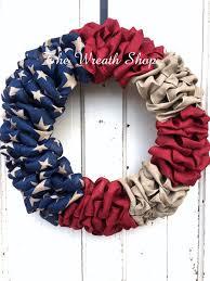 wreath supplies patriotic ribbon flag wreath flag wreath burlap ribbon wreaths