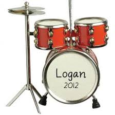 drum set ornament personalized ornaments for you