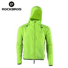 windproof cycling jackets mens rockbros windproof cycling hooded jacket long sleeve breathable