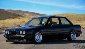 bmw slammed black beauty import addicts welcome to our automotive blog
