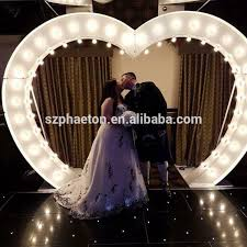 wedding arches with lights list manufacturers of heart shaped wedding arch buy heart shaped