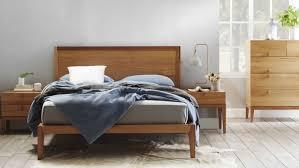 Domayne Bedroom Furniture Lola Bed Frame Natural Domayne
