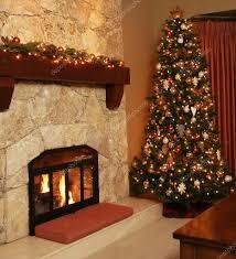 At Home Christmas Trees by Christmas Tree At Home U2014 Stock Photo Hannamariah 11286484