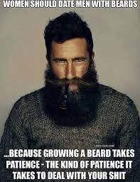 Date Meme - women should date men with beards meme guy