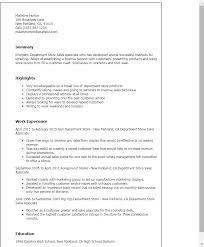 retail sales associate resume objective sales associate objective