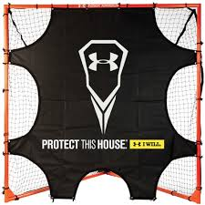 armour goal blocker lacrosse goal shooting target