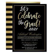 grad party invitations college graduation party invitations announcements zazzle