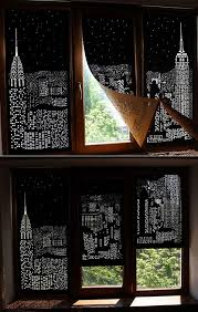 Blackout Curtains For Media Room Blackout City Curtains By Holeroll Craft Ideas Pinterest