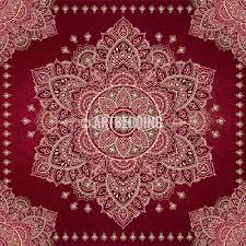 Bedding Cover Sets by Mandala Bedding Burgundy Maroon And Gold Mandala Duvet Cover Set