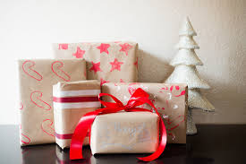 silver lining diy toddler friendly holiday gift wrap
