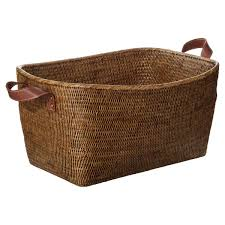 fairfax rattan basket large oka