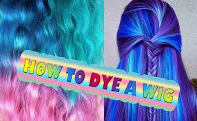Color Hair Extension by Dye Synthetic Hair Wig Dreads Ombre Extension Cosplay Youtube