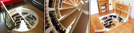 in floor wine cellar spiral wine cellars wine ponder