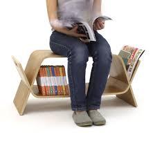 Multifunctional Furniture Embrace Coffee Table Bookshelf U0026 Bench Birch U2013 Homeware