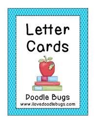 alphabet letter cards free by doodle bugs teaching