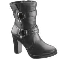 womens xelement boots xelement lu8001 s fashion 3 buckle motorcycle boots