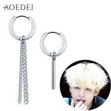 bts earrings aoedej jin jimin bts earrings kpop bangtan boys korean earrings