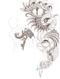 abstract tattoo design by patrickschappe art on deviantart