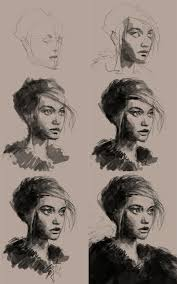 best 25 how to draw portraits ideas on pinterest face