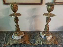 candelieri antichi coppia di antichi candelieri saviarte design