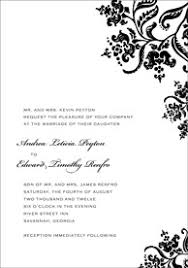 bridal invitation templates wedding invitation word templates amulette jewelry