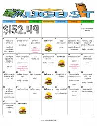 free printable menu planner template a month of delicious kid friendly dinners for 152 with free august month of meals budget meal plan moms bistro kid friendly dinner menu recipe free printable