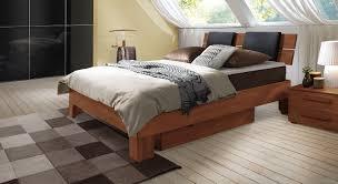 Schlafzimmer Bett Mit Matratze Boxspringbett Aus Echtholz Z B Aus Buche Bestellen Port Louis