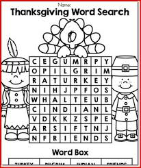 thanksgiving language arts worksheets jannatulduniya